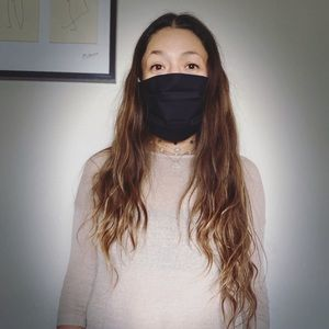 Fabric Face mask 😷 hand made 💯 cotton washable